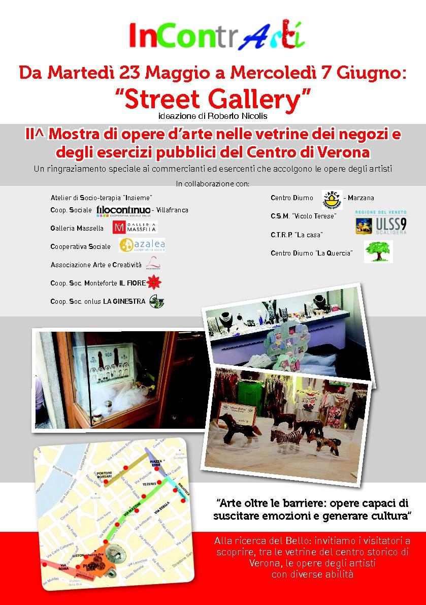 24 maggio – Inaugurazione Street Gallery 2017