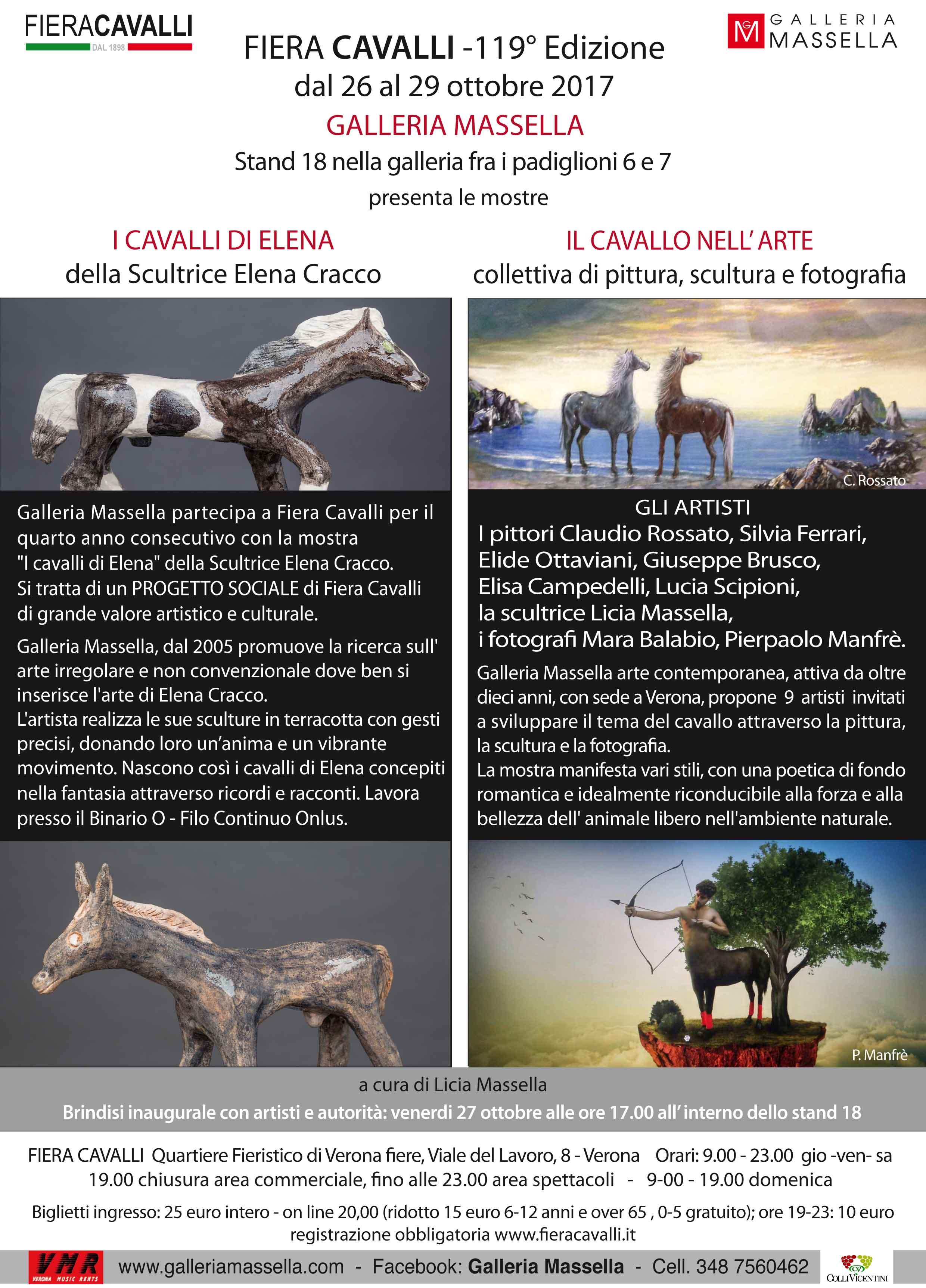 FIERA CAVALLI -119° Edizione dal 26 al 29 ottobre 2017